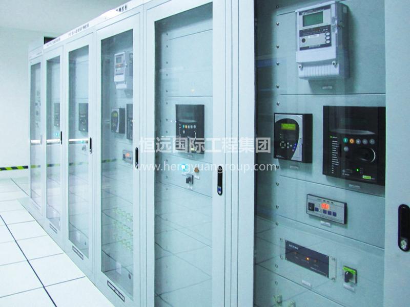 甘肃恒亚水泥有限公司 高低压非标配电箱柜