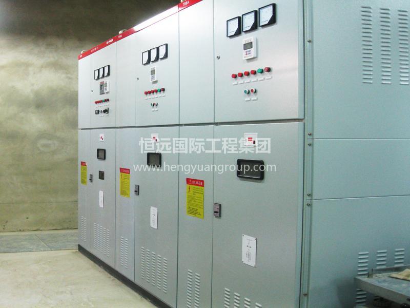 俄罗斯亚洲水泥有限公司 KYN28-12交流金属铠装移开式开关柜