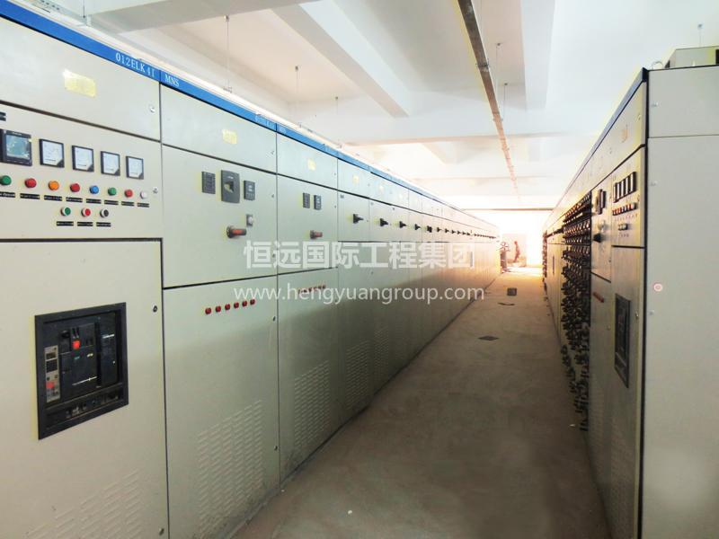 蒙古Tsagaan Suvarga 铜钼矿项目 低压抽出式开关柜