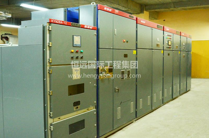 俄罗斯CCK热镀锌厂 KYN28-12交流金属铠装移开式开关柜