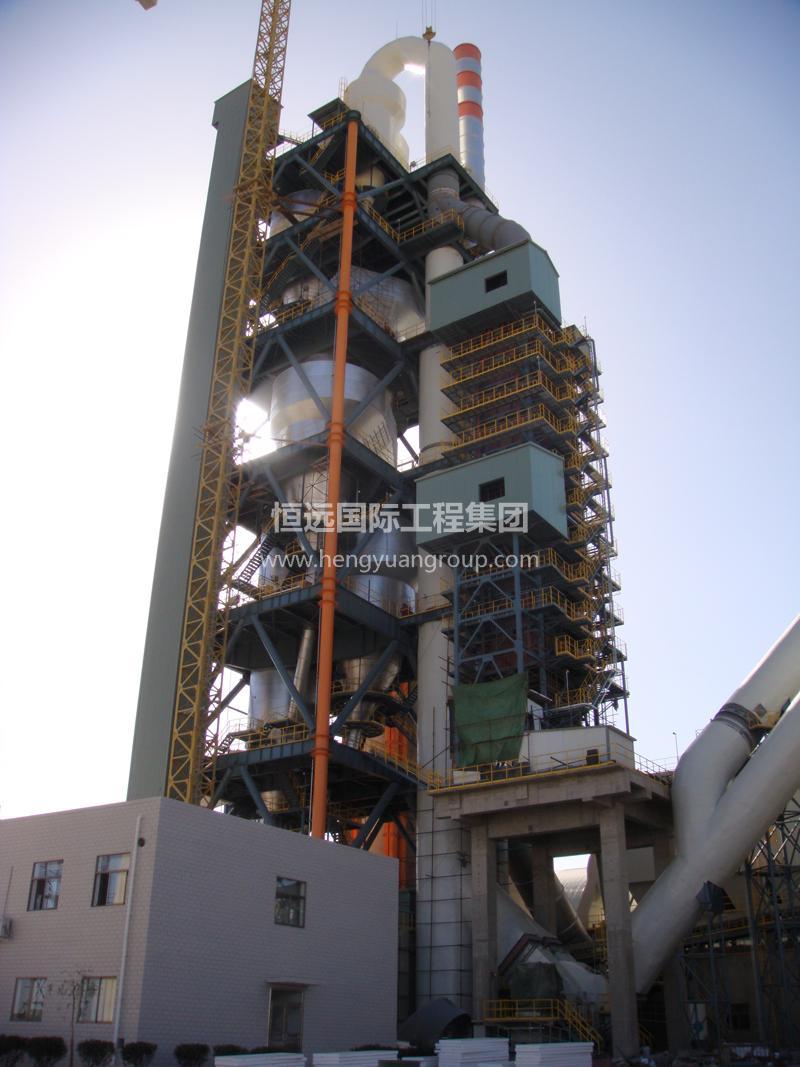 甘肃恒亚预热器塔架