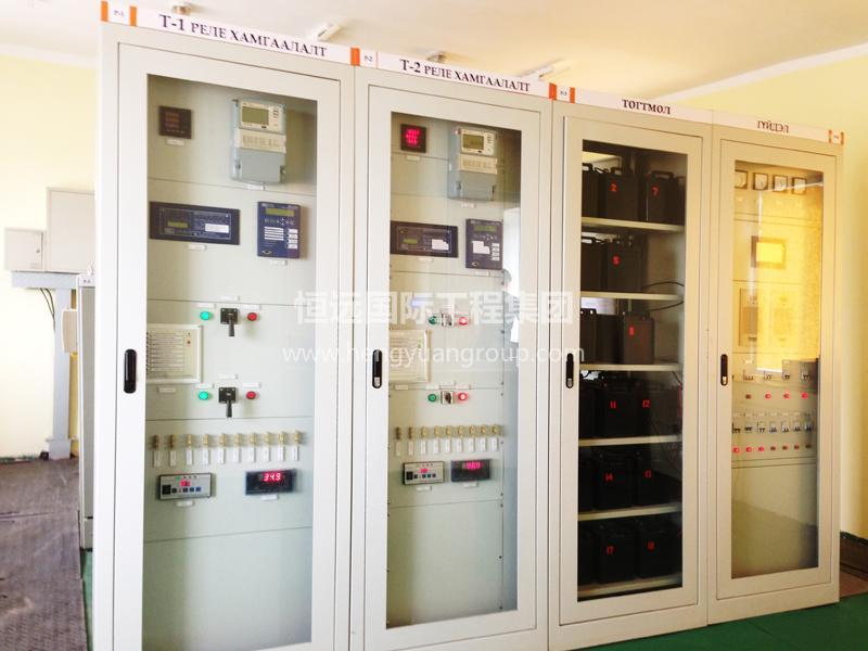 蒙古KHUKH TSAV 水泥厂 高低压非标配电箱柜