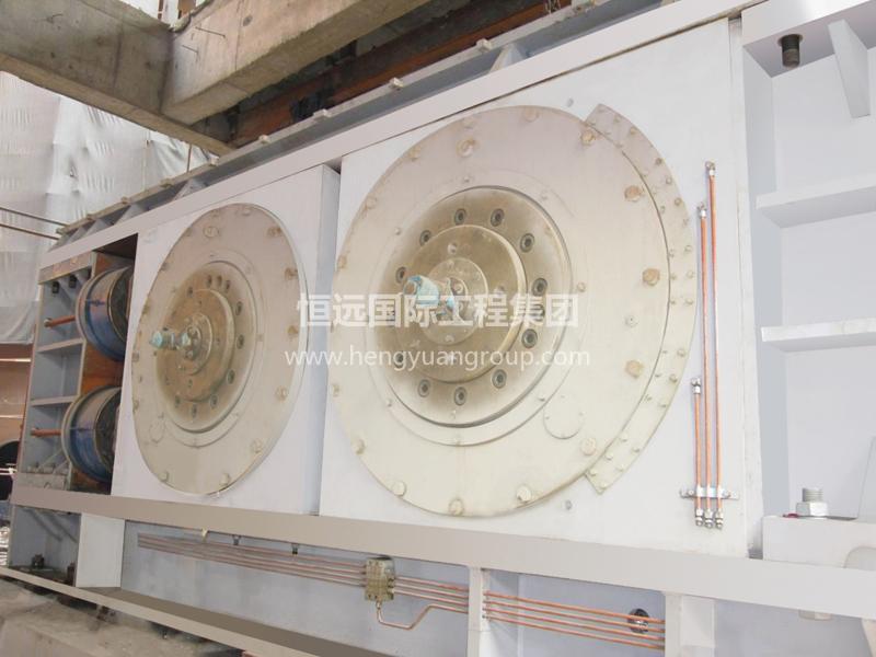 甘肃恒亚水泥有限公司HYRP1414辊压机