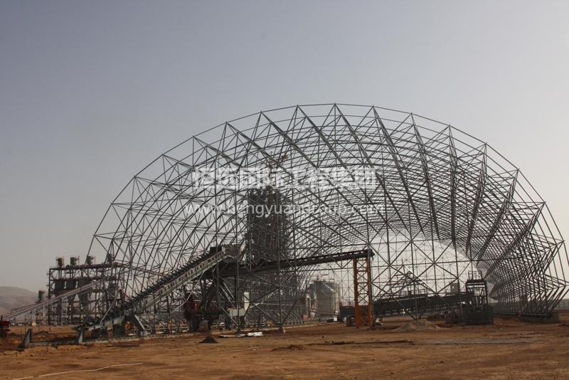 叙利亚阿尔巴迪亚水泥厂网架